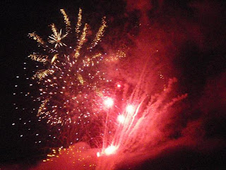Kuala Lumpur Malaysia Fireworks to celebrate Happy New Year 2010