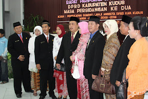 Pelantikan DPRD Kab. Kudus