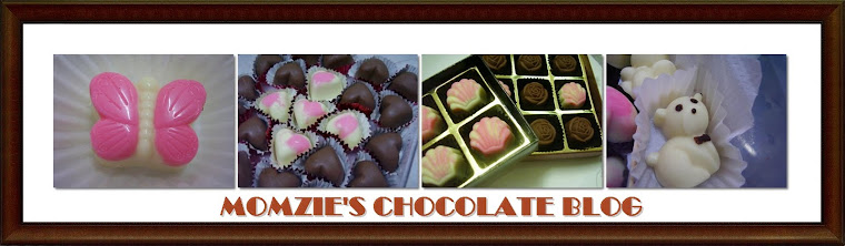 MOMZIE'S CHOCOLATE BLOG