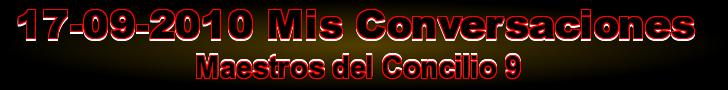 MAESTROS DEL CONCILIO 9