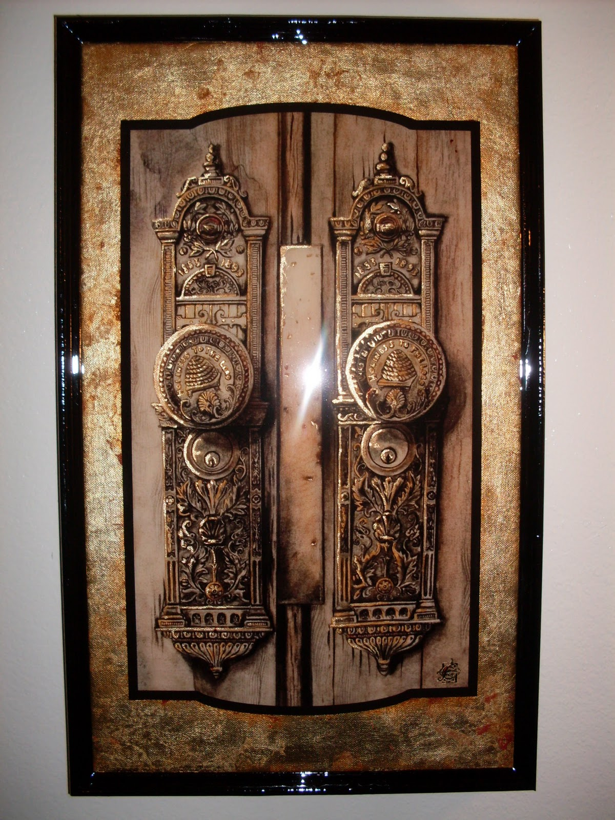 SLC Temple Doors