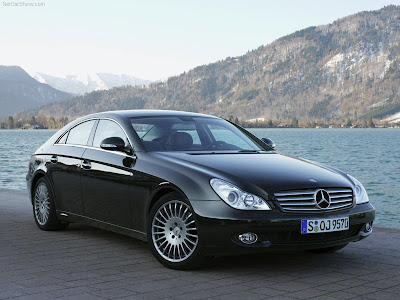 Mercedes-Benz CLS 350 CGI hot shot car pictures