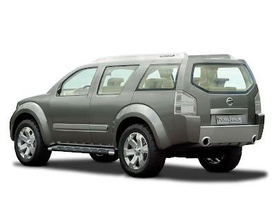 2002 Nissan Yanya Concept. 2003 Nissan Dunehawk Concept