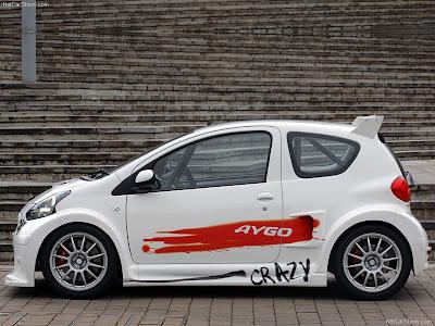 2006 Toyota Aygo For Sport Concept. Toyota Aygo Crazy concept