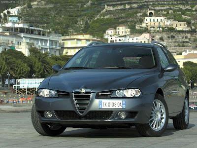 Alfa Romeo 156 2.4 JTD 2003 2003 Alfa Romeo 156 Sportwagon 2.0 JTD