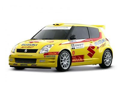 2005 Suzuki Swift Rally Car. 2005 Suzuki Swift Rally Car