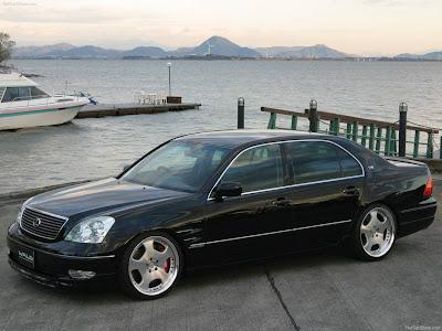 2001 Wald Lexus LS