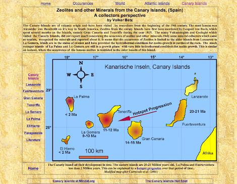 Minerales Canarios: Volker Betz