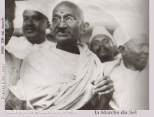 "MAHATMA GANDHI WHOSE MODEL OF ""SATYA GIRI"" AND PEACE WALKS WE FOLLOW"