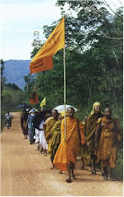MONKS AND TRAINEE MONKS DHARMA YATRA IN THAILAND.