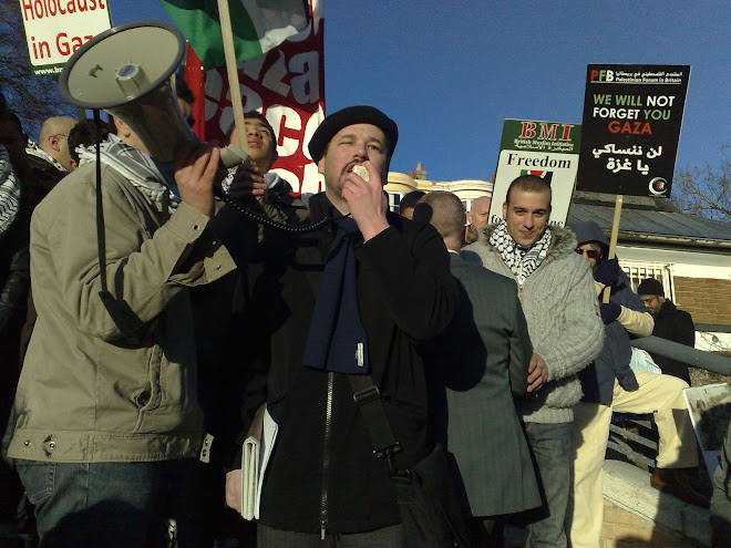 DAN FROM JEWS FOR JUSTICE FOR PALESTINE CAME  FROM LONDON