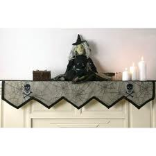 Halloween Decor for fireplace