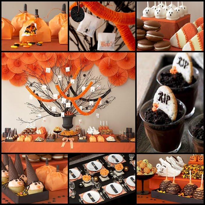 halloween party table decoration ideas photograph hallowee