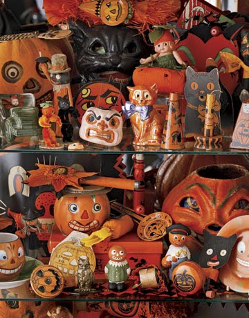 Vintage halloween d cor halloween decorations ideas for Antique halloween decoration