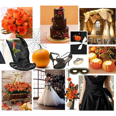 Halloween-theme-wedding