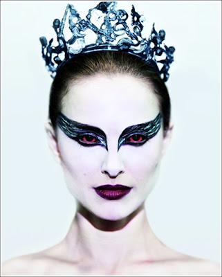 black swan makeup natalie portman. lack swan makeup natalie