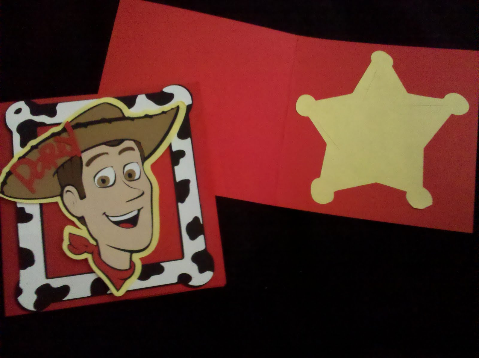 Nortons Dreams: Toy Story Woody Party Invitations
