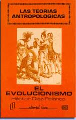 Las teorías antropológicas. El evolucionismo