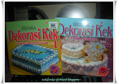 from my kitchen's: Buku Dekorasi Kek
