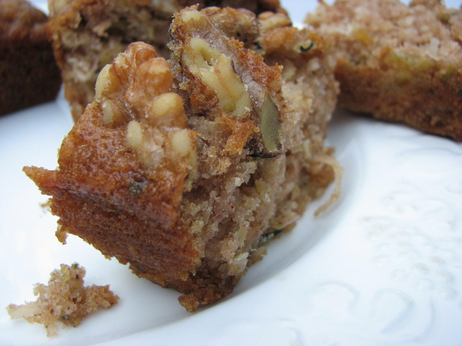 Heidi Bakes: Pineapple coconut zucchini walnut bread