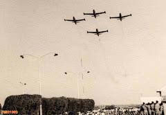 FESTIVAL AÉREO NO AEROPORTO DE LUANDA, ANO - 1963.