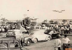 FESTIVAL AÉREO NO AEROPORTO DE LUANDA - ANO 1963.