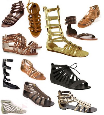 gladyator sandalet modelleri - Gladyat�r Sandalet Modelleri