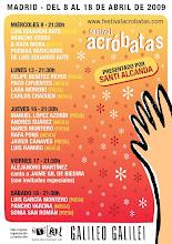 FESTIVAL ACRÓBATAS EN MADRID