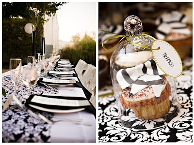 Damask Wedding Ideas on Tying The Knot  A Wedding Inspiration Blog   Lovely Damask Or Bold