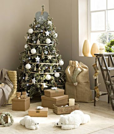 El rinc n de sonia decoraci n elige tu arbol de navidad - Arbol navideno blanco decorado ...