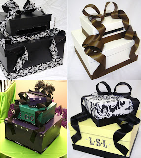 DIY vs. LTDI Cardbox :  wedding Cardboxes