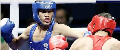 Puerto Rican Olympian Jonathan Gonzalez at Beijing 2008
