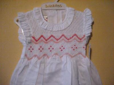 Vestidos punto de smock