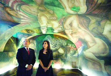 Grupo edam noticias for El mural de siqueiros en argentina