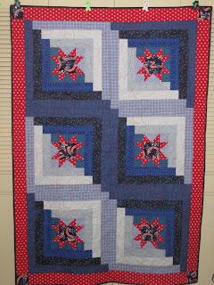 Life is like a patchwork quilt: Orion s Star Quilt