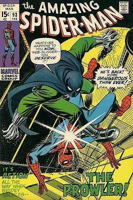 Amazing Spider-Man #93, the Prowler