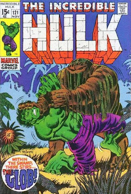 Incredible Hulk #121, the first appearance and origin of the Glob
