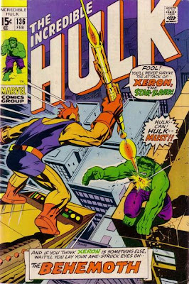 Incredible Hulk #136, Xeron, Klaatu and the Abomination