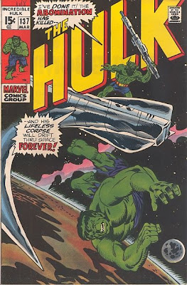 Incredible Hulk #137, Cybor, the Abomination, Xeron and Klaatu
