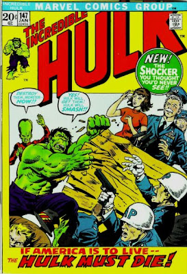 Incredible Hulk #147, the Leader, Richard Nixon, and the 'death' of Doc Samson