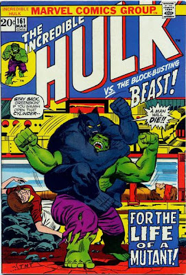 Incredible Hulk #161, the Beast and the Mimic