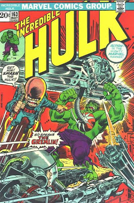 Incredible Hulk #163, the first ever Gremlin