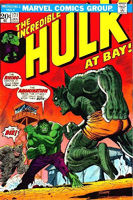 Incredible Hulk #171, The Abomination and the Rhino