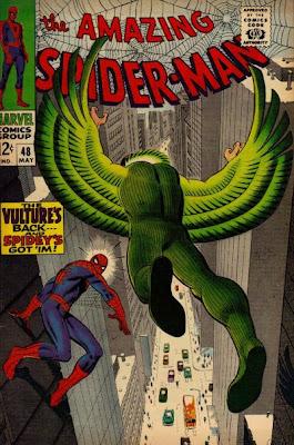 Amazing Spider-Man #48, the Vulture Number 2, John Romita