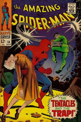 Amazing Spider-Man #54, Dr Octopus - Aunt May's lodger