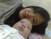 me & baby