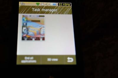 Samsung genio slide task manager