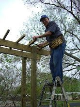 Melvin Working on the Arbor Extension