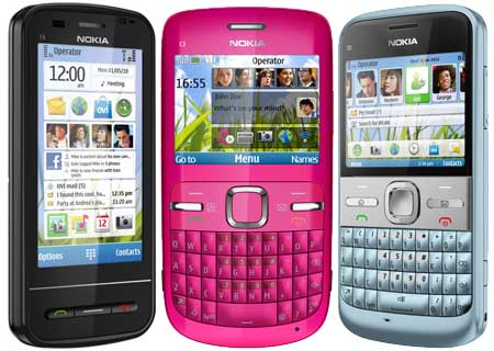 Nokia C3 is a BlackBerry-style messaging device aimed at social networkers,
