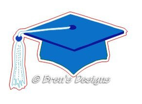 Graduation Hat Templates Cutting Out http://www.brensdesigns.com/2009 ...